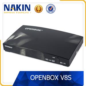 Genuine Openbox V8S wholesale uk support 2x USB USB Wifi 3G WEBTV