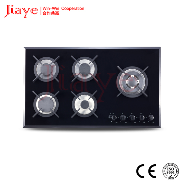 Home appliance 5 burners Stainless steel gas burner cooking range/kitchen appliance gas hob