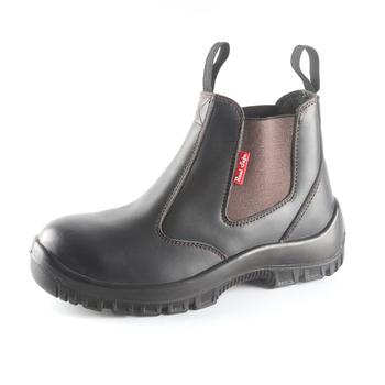 sports shoes d6291 f34f8 2018 Heißer Verkauf Gute Qualität Crazy Horse Leder Slip Auf Arbeitsschuhe  Australien S3 Stahlkappe Sicherheitsschuhe Keine Schnürsenkel Snc303 - Buy  ...
