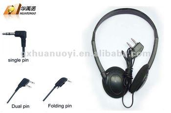 Headphone For Aviation / Double Pin Adaptor Earbuds /disposable Earplug/2  Pin Earphone/ear Buds/car Mobile Phone/earphone Buy - Buy Noise Cancelling