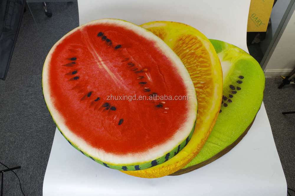 Funny dog beds, watermelon dog beds, hot sale fruit pet bed