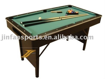 Foldable billiard table buy foldable billiard table for Pool table 6 x 3