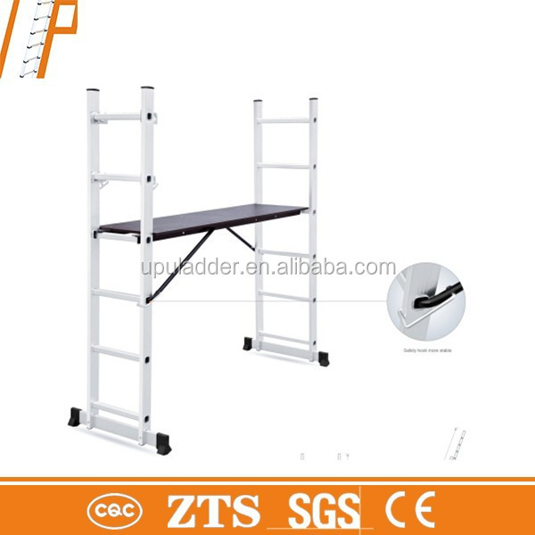 2015 Hot selling aluminum extension ladder with EN131 Aluminum telescopic ladder/magic ladder/step ladder