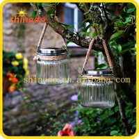 Solar Power Residential Catch Sun Jar Outdoor Garden Lighting Led Light