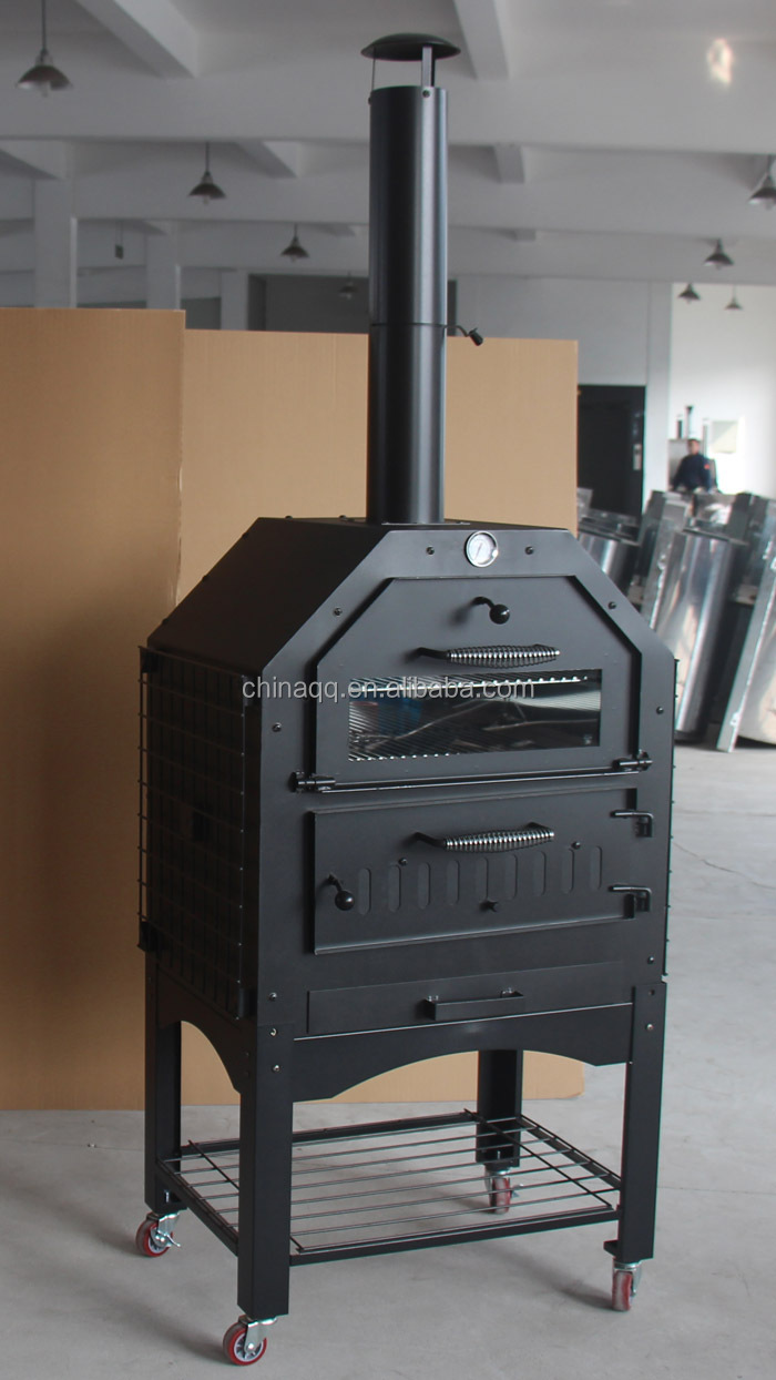 Cast Iron Outdoor Wood Fired Pizza Oven