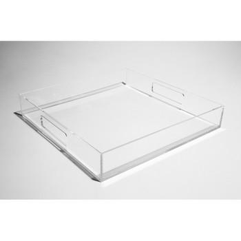 Clear High Quality Fashion Custom Acrylic Tea Coffee Table Tray