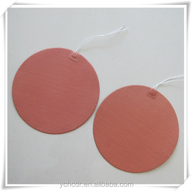 Silicone Round Heated Pad 600mm