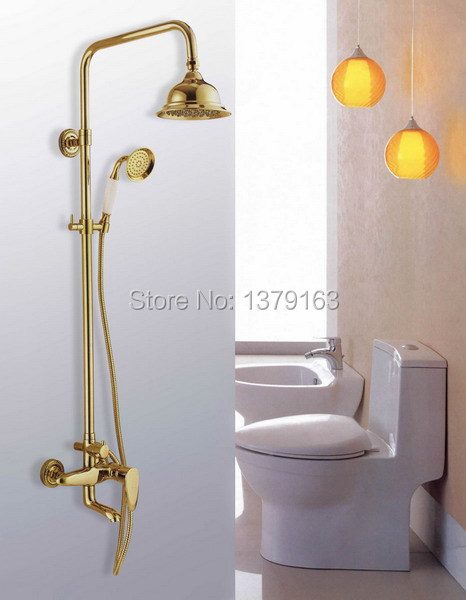 Polished Brass Bathroom Faucet: Aliexpress.com : Buy Luxury Gold Color Polished Brass Wall