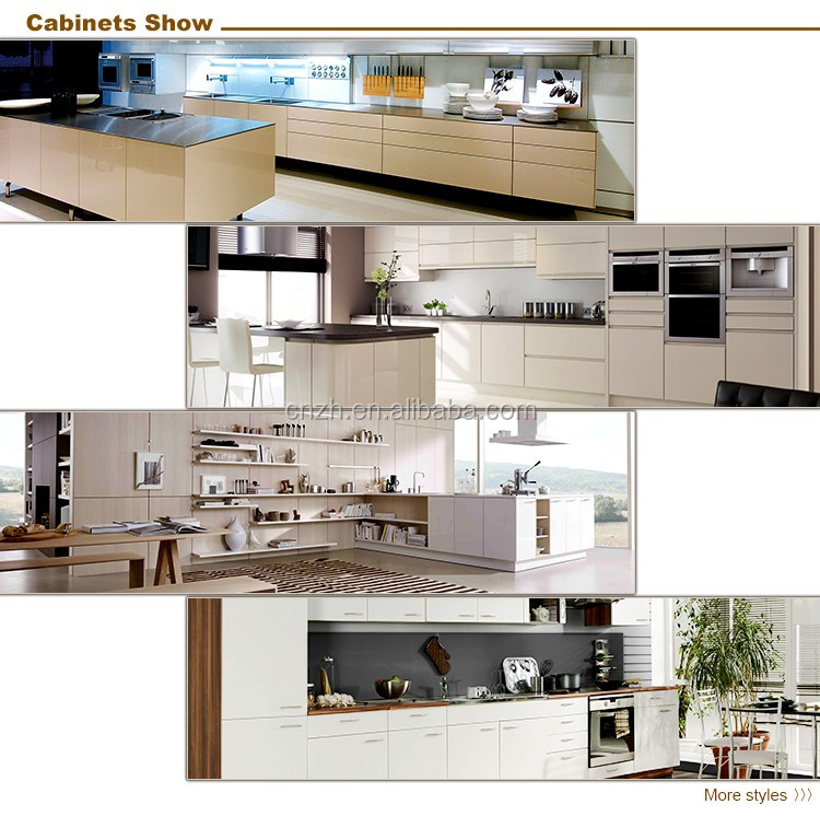 High Glossy Finish Ghana Kitchen Cabinet Laminated Plywood Kitchen ...