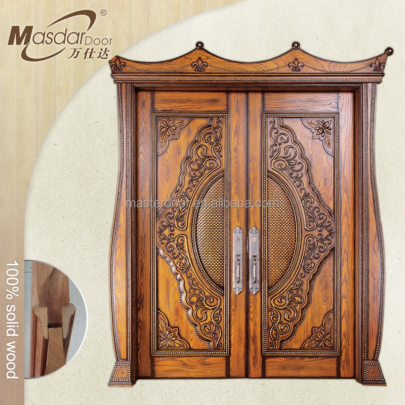 Door Designs For Indian Houses House Front Safety Design Solid Wood Double Doors Buy Designindian Doorswood Product On Inside Inspiration