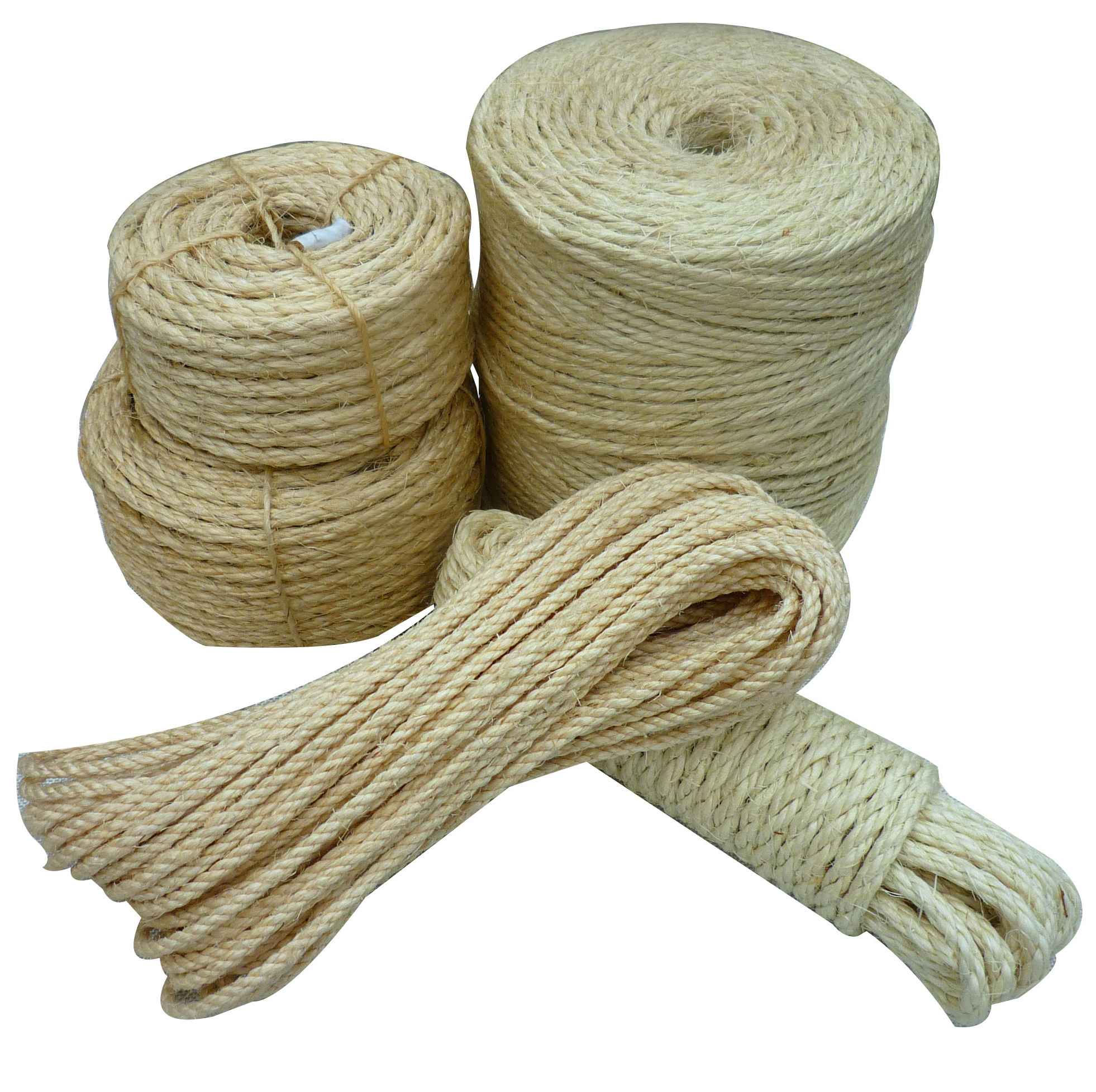 10mm Natural Color 3 Strandstwisted Sisal Rope - Buy Sisal Rope  Untreated,Twisted Sisal Rope,10mm Sisal Rope Product on Alibaba com