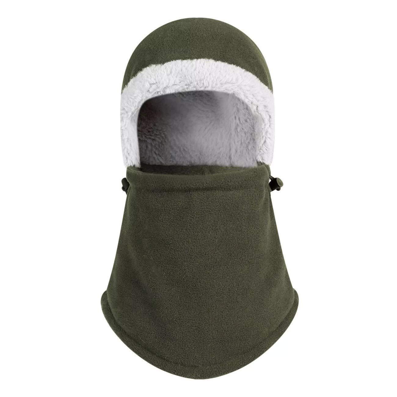 0c9d8a9762a93 Get Quotations · LLmoway Men Women Winter Warm Hat Fleece Balaclava Hood  Face Mask Neck Warmer