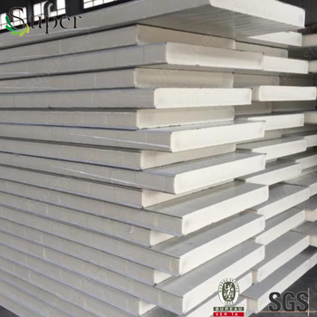 Polyurethane Pur Pir Sandwich Panel For Insulated Wall