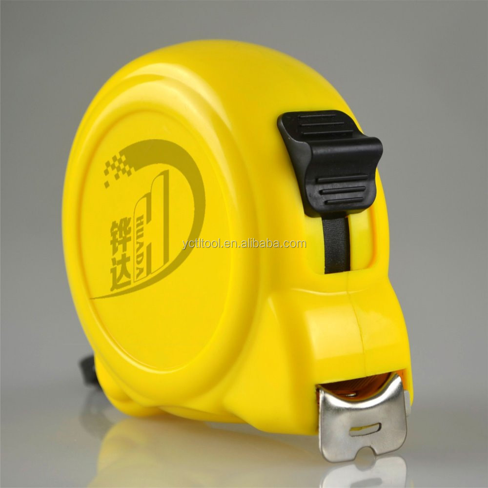 the yellow new ABS steel measure tape,tape measure,steel measure tape tool