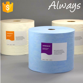 Lint free disposable spunlace nonwoven wipe / towels