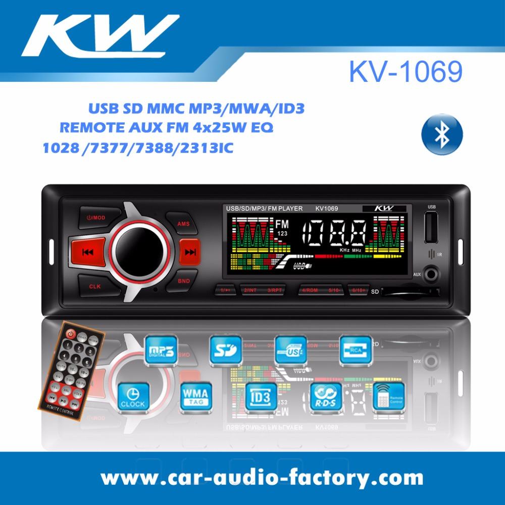 New design car usb radio transmitter FM/USB/SD/BT player