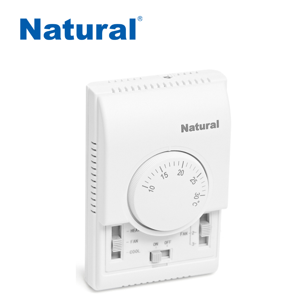 Electric fireplace thermostat with manual switch (CE RoHS)