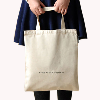 2018 New Design Canvas Tote Bag Promotional Cotton