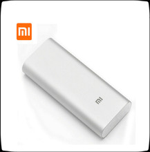 100% Original Xiaomi Power Bank 16000mAh Backup External Battery Pack With Dual USB For IOS/Android Phone Xiaomi Mi Pad