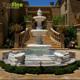 Moroccan Garden White Marble Fountain for Sale