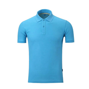 Wholesale apparel factory dry fit polo shirts wholesale promotional t shirts with logo custom labels blue men polo t shirts