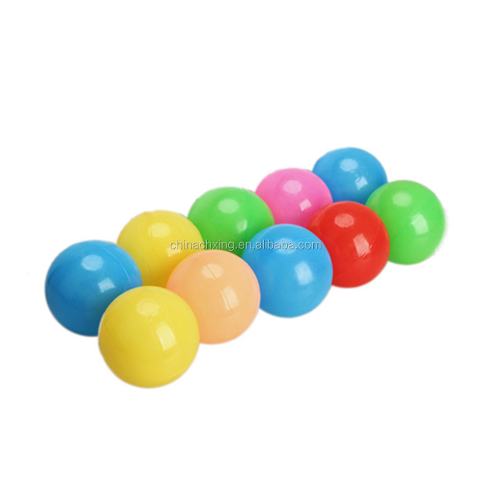 Wholesale Children's Play Ball Colorful Soft Pit Ball,Ocean Ball,Plastic Ball For Kids