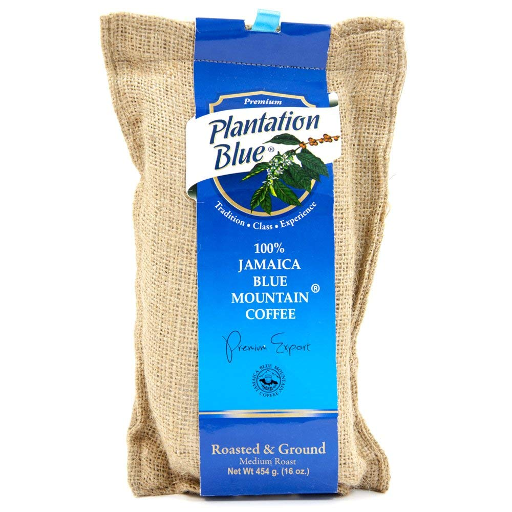 100% Jamaica Blue Mountain Coffee (16oz roasted and ground))