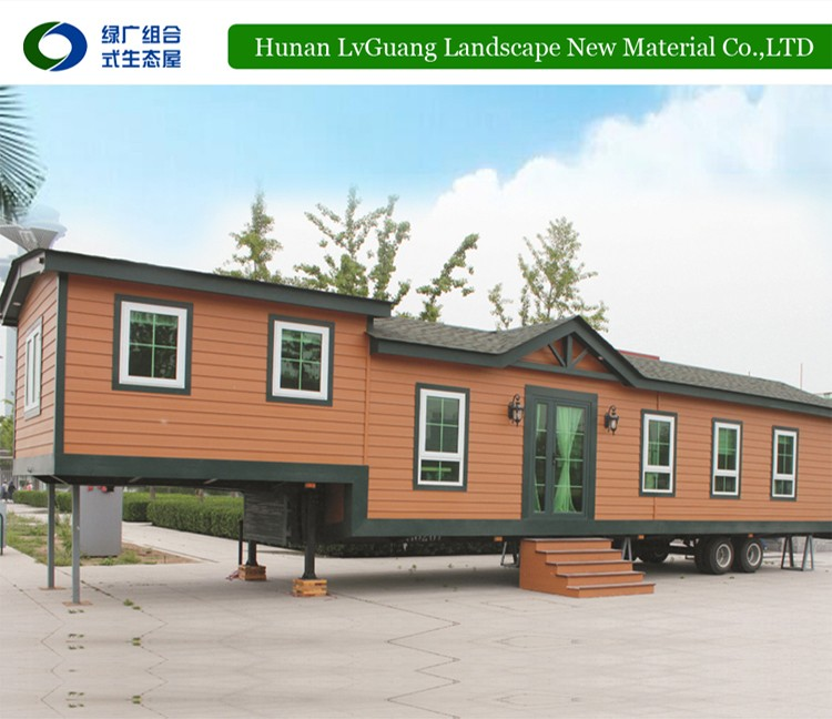 Luxury design waterproof structure small mobile homes