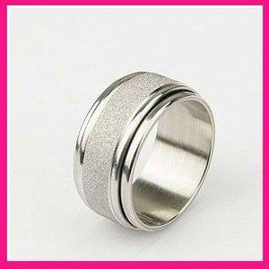 4570c43df13 fashion mens wedding rotating rings stainless steel skull rings for women