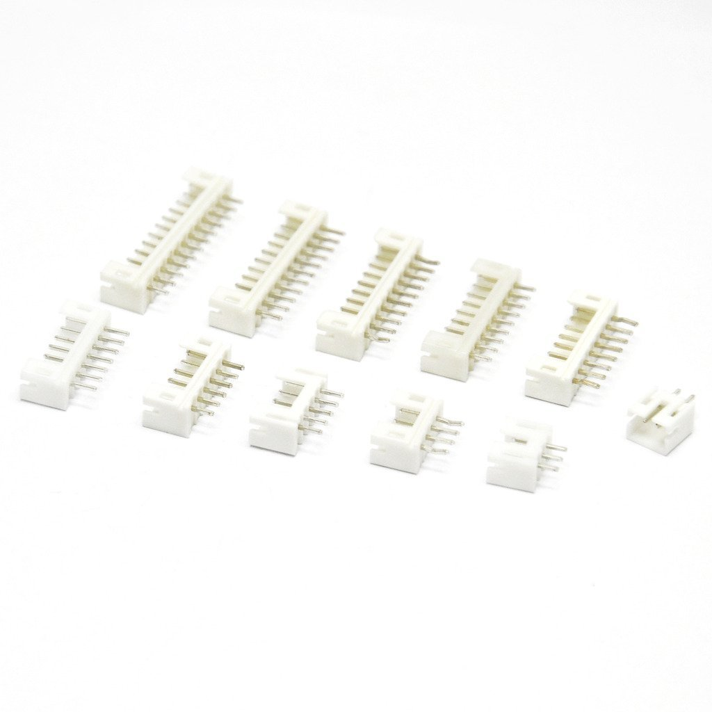Gikfun Assorted PH 2.0mm 2/3/4/5/6/7/8/9/10/11/12 Pin JST Straight Socket Male Connector for Arduino AE1015