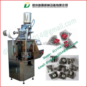 automatic tea packing machine/Auto Triangle Tea Bag Packing Machine/ auto grain tea bag packaging machine