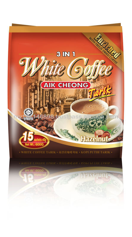 3 IN 1 White Coffee Tarik (Hazelnut)