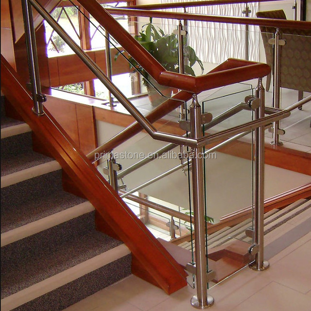 Interior Railings Steel Post For Installing Stair Railing System