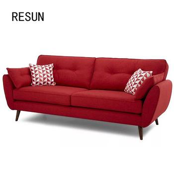 Resun Teak Wood Arab Style Red Sofa Set Designs - Buy Steel Sofa ...