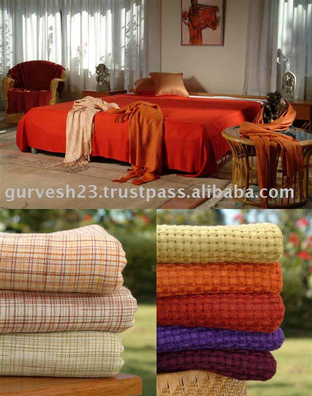10% Cashmere 90% Bamboo Fiber Blankets & Throws