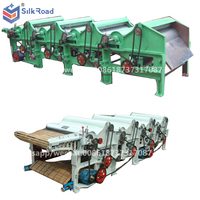 Four Rollers Waste Textile Recycling/Tearing Machine