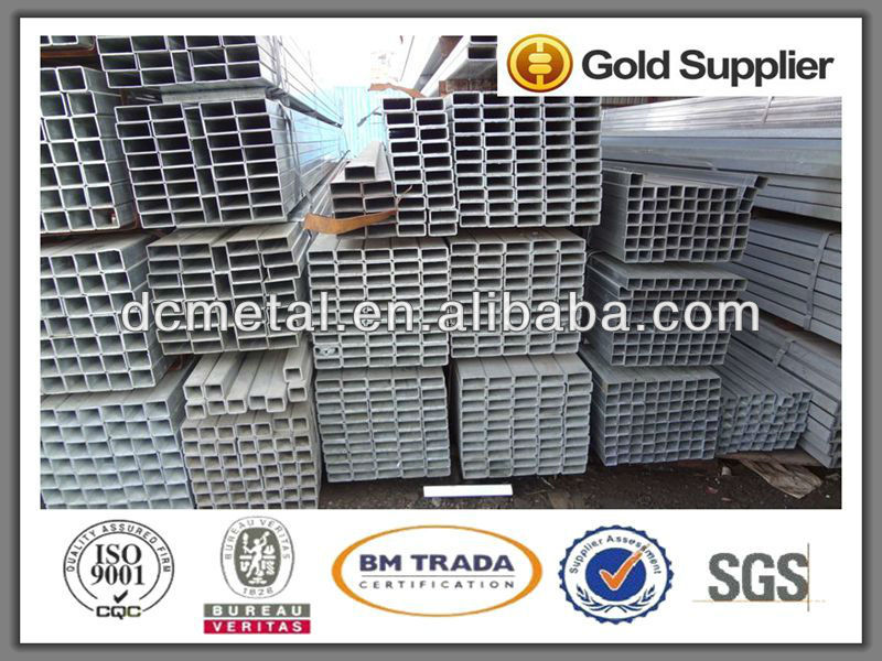 making machine Q235B hot dipped galvanized square steel pipe