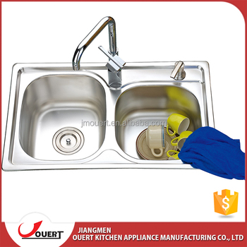 malaysia manufacturers custom made double bowl inox kitchen sink - Kitchen Sinks Manufacturers