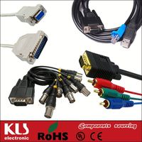 Good quality scart to rgb rca cable UL CE ROHS 432 KLS