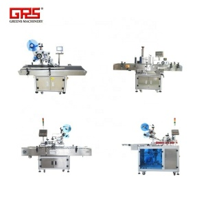 Many tapes automatic labeling machine for adhesive tape packing