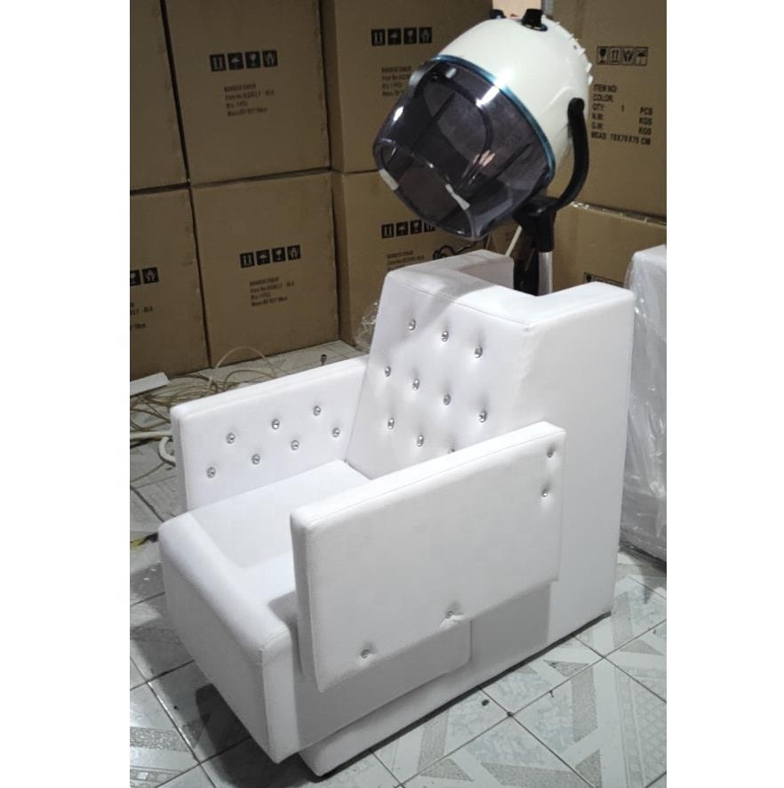 Sensational 2019 New Arrival Classic European Style White Dryer Chair With Dryer Buy Dryer Chair Salon Dryer Chair Hair Dryer Chairs Product On Alibaba Com Caraccident5 Cool Chair Designs And Ideas Caraccident5Info