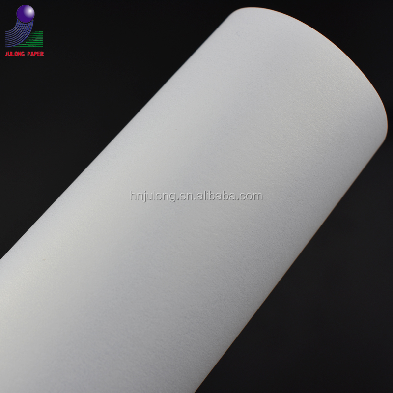 ice white offset printing shimmer cardstock pearl paper name card