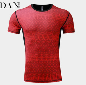 db7e375b23e6 OEM New Style Summer Good Breathable Pullover Training Sportswear Men Tight  Fit Speed Dry Clothing Gym