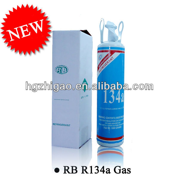 Refrigerant Gas R134a For Automobile Air-Conditioning