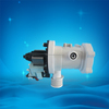 Auto washing machine drain pump