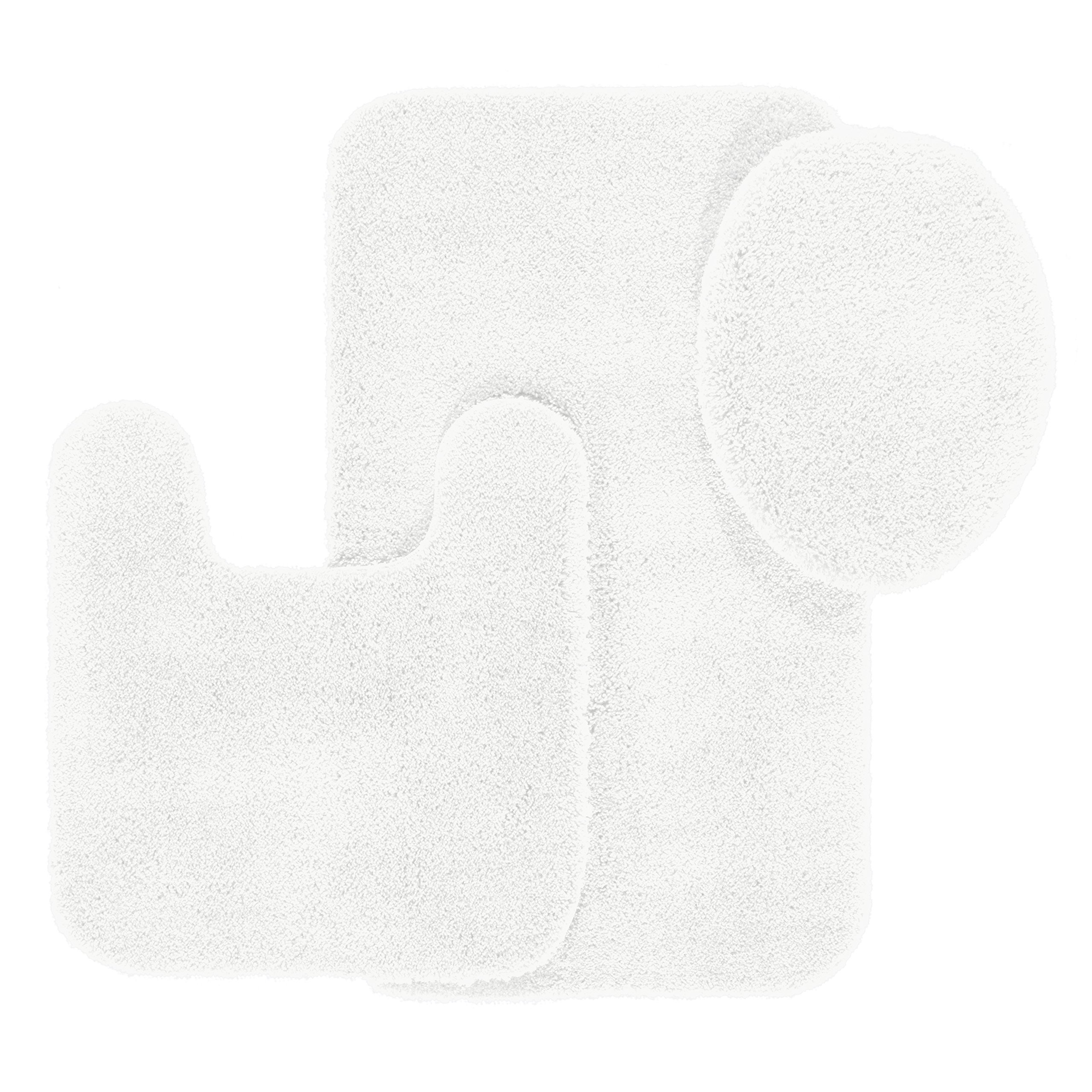 Buy Maples Rugs Bathroom Rugs Set Cloud Bath 3pc Washable Non Slip