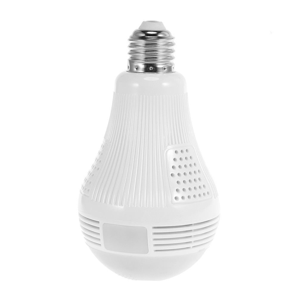 960P 360 Degree VR Panoramic Bulb IP <strong>Camera</strong> Indoor Wifi Two Way Audio Security <strong>Camera</strong> Wifi