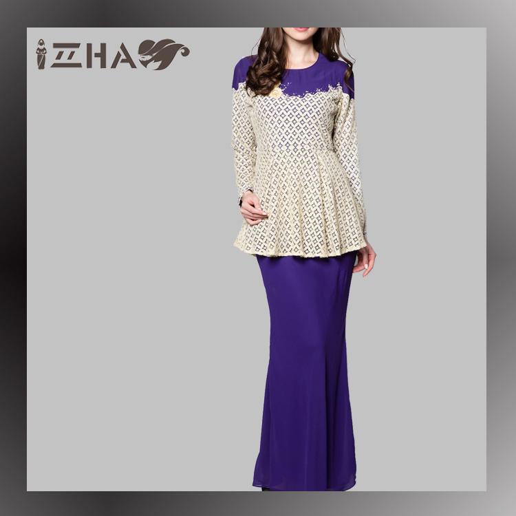 Abaya Era Maya Online Chiffon Fesyen Baju Kurung Peplum Kain ...