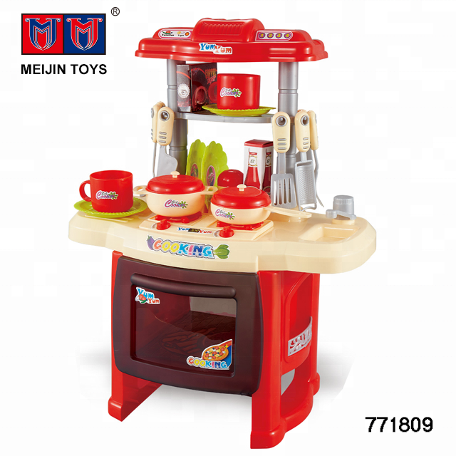 Battery Operated Big Size Red Kitchen Desk Kitchen Toy For Kids Buy Big Kitchen Set Toy Electric Kitchen Toy Kitchen Toy For Kids Product On Alibaba Com