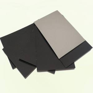 China direct factory high quality black board with grey back